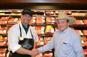 When the local rancher and butcher get together, good things happen!