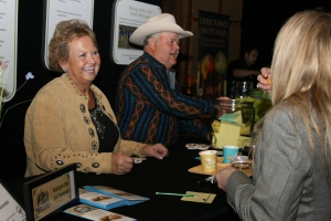 People loved the Painted Hills Beef, and the ranchers!