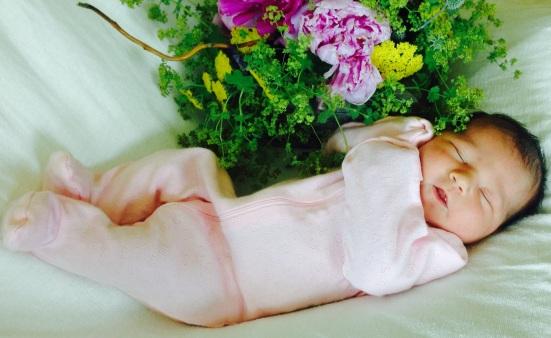 "Elsie Maria Coon aka ""RBII"" born June 29, 2014 8lbs 7oz, 21"""