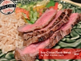 How to Make Soy Citrus Flank Steak {After Baby Un-Diet}